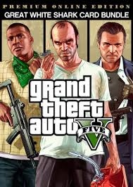 Grand Theft Auto Online (GTA V 5): Great White Shark Latest Version Free Download